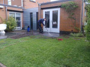 Nieuwe grasmat